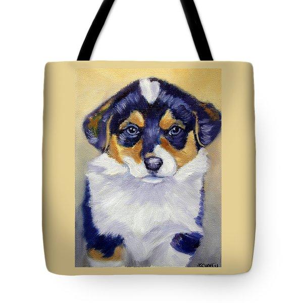 Pembroke Welsh Corgi Pup Tote Bag
