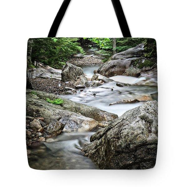 Pemigewasset River Nh Tote Bag
