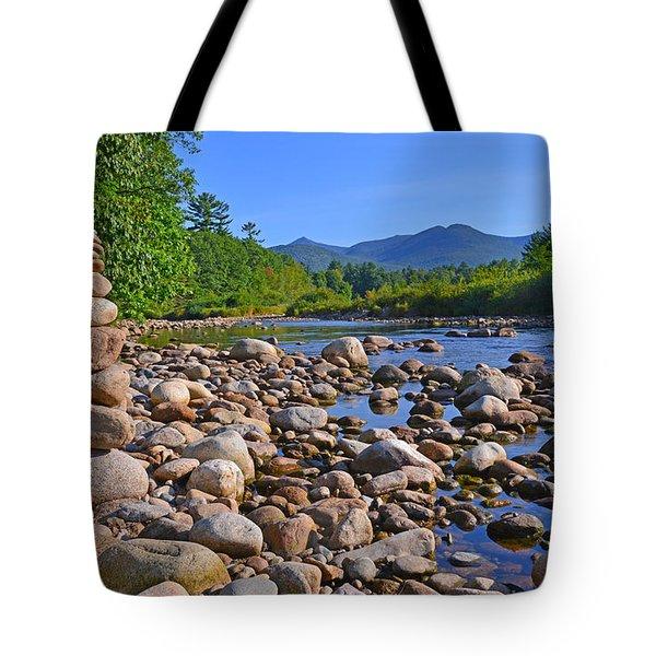Pemigewasset River, North Woodstock Nh Tote Bag