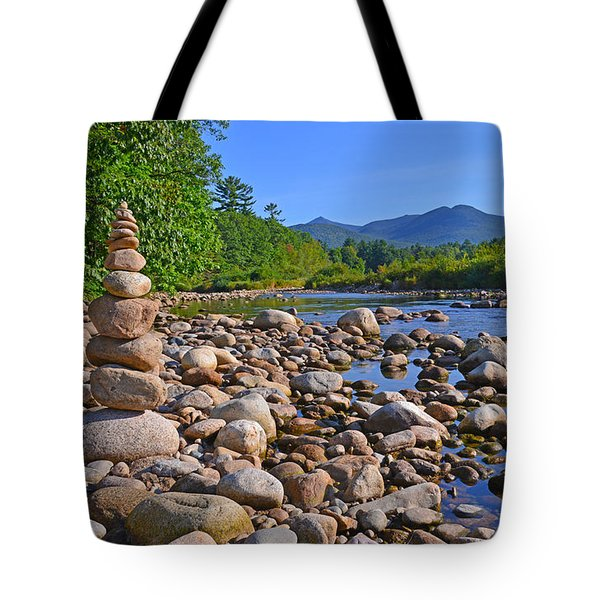 Pemigewasset River, North Woodstock Nh Tote Bag