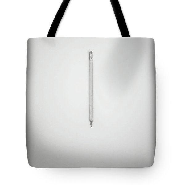 Pencil On A Blank Page Tote Bag