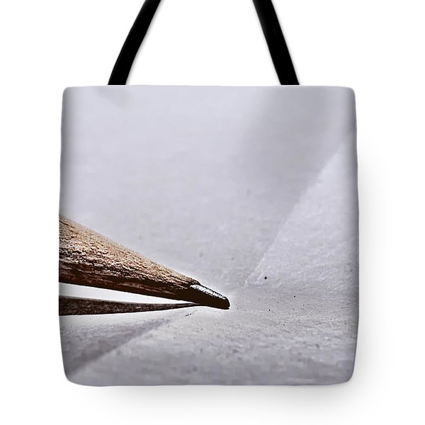 Pencil On Paper Tote Bag