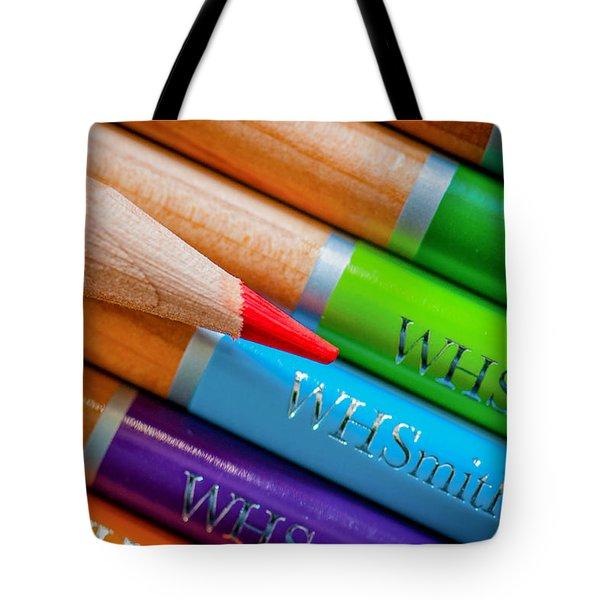 Pencils 3 Tote Bag