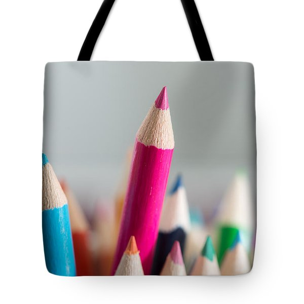 Pencils 4 Tote Bag