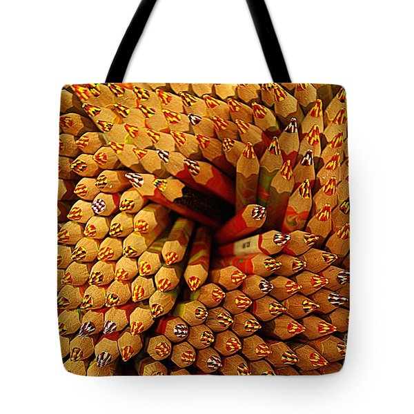 Pencils Pencils Everywhere Pencils Get The Point...lol Tote Bag by John S