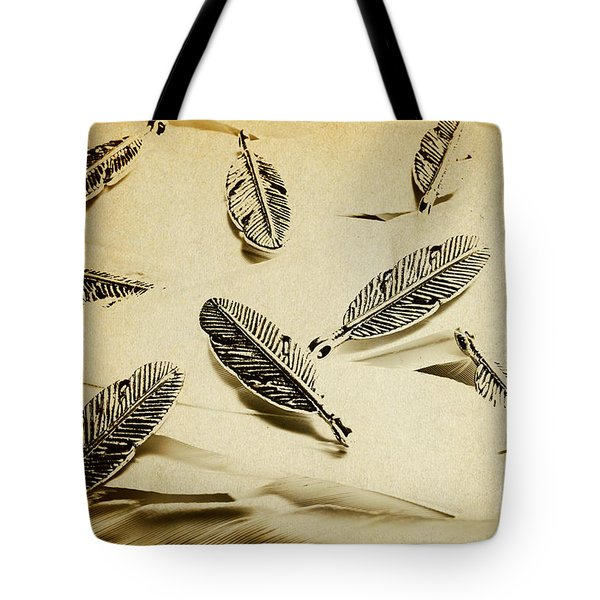 Pendants And Quills Tote Bag