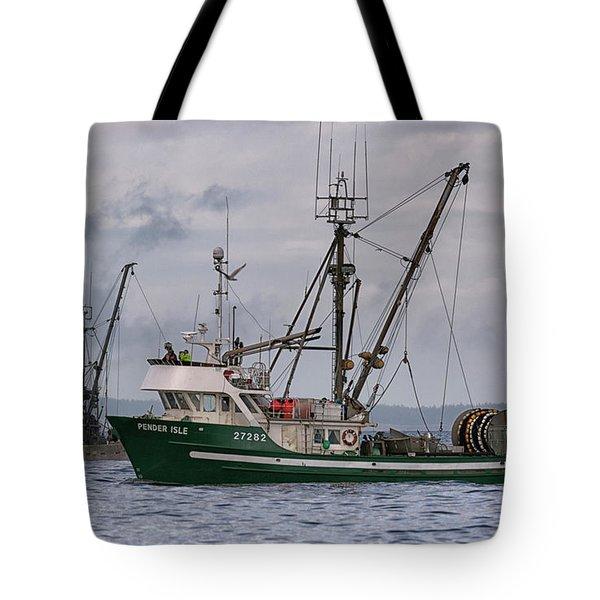 Pender Isle And Santa Cruz Tote Bag