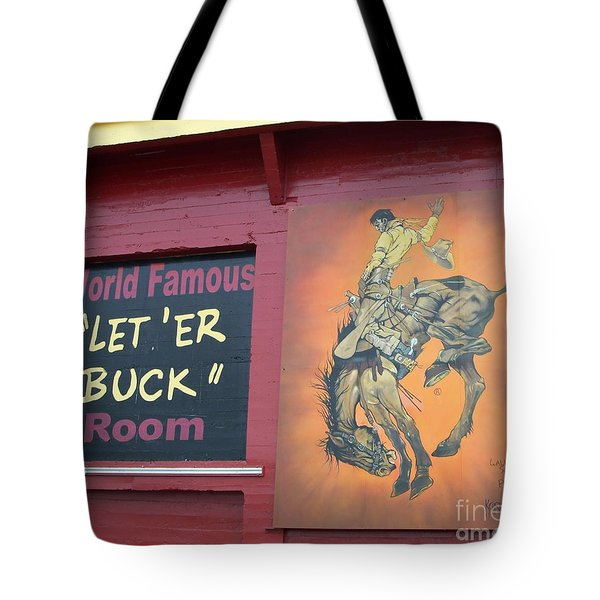 Pendleton Round Up Mural Tote Bag by Chalet Roome-Rigdon