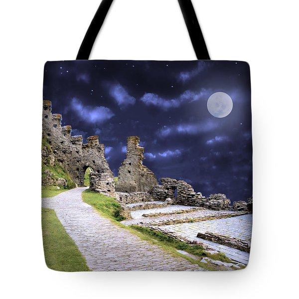 Pendragon Moon Tote Bag