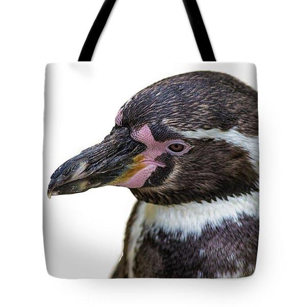 Penguin Portrait Tote Bag
