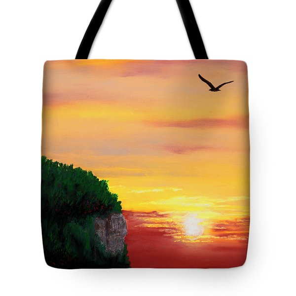 Peninsula Park Sunset Tote Bag