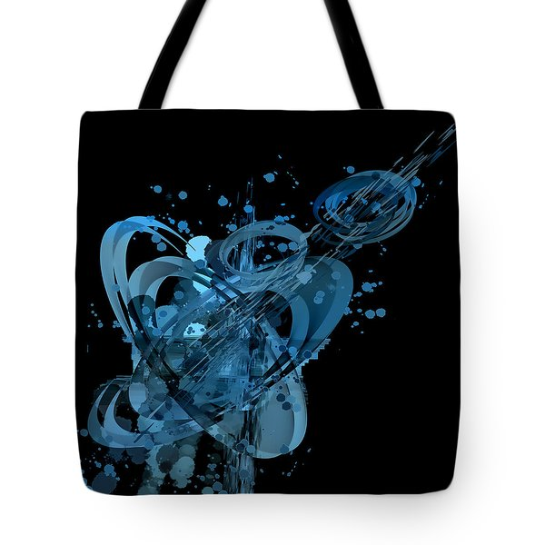 Tote Bag featuring the painting Penman Original-147 by Andrew Penman
