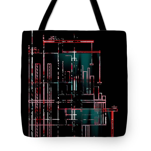 Tote Bag featuring the painting Penman Original-159 by Andrew Penman
