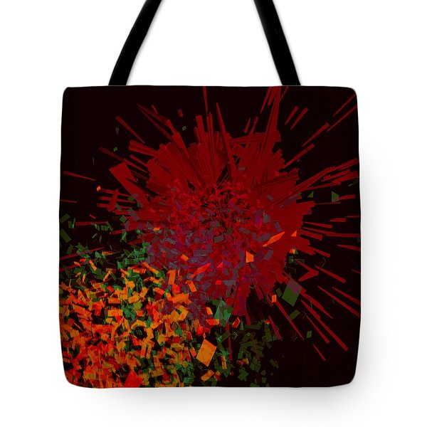 Tote Bag featuring the painting Penman Original-160 by Andrew Penman