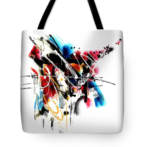 Tote Bag featuring the painting Penman Original-163 by Andrew Penman