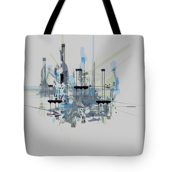 Tote Bag featuring the painting Penman Original-176 by Andrew Penman