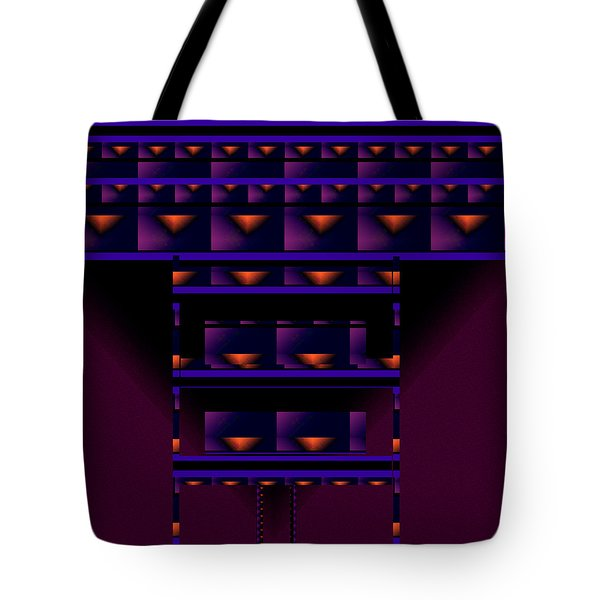 Tote Bag featuring the painting Penman Original-201 by Andrew Penman