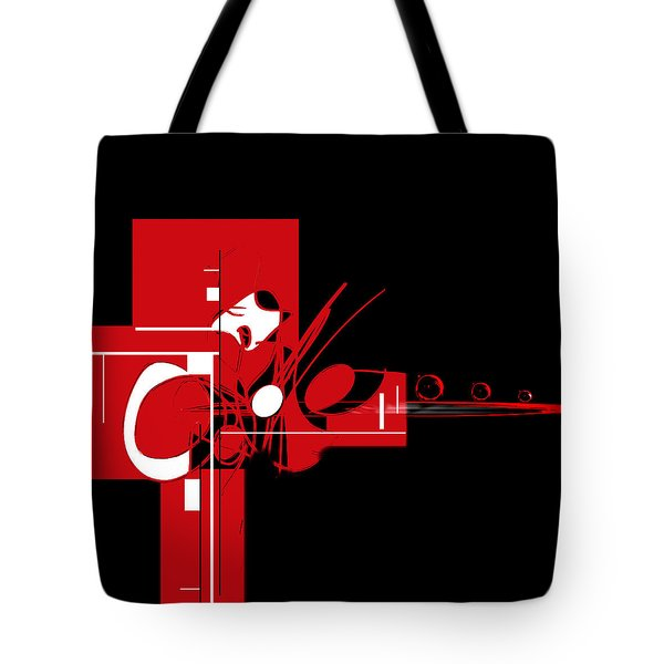 Tote Bag featuring the painting Penman Original-203 by Andrew Penman
