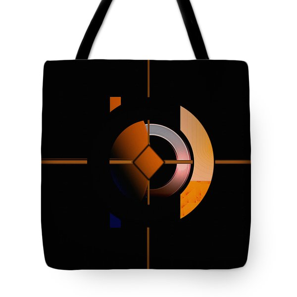 Tote Bag featuring the painting Penman Original - 216 by Andrew Penman