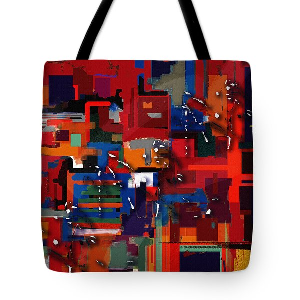 Tote Bag featuring the painting Penman Original-227 by Andrew Penman