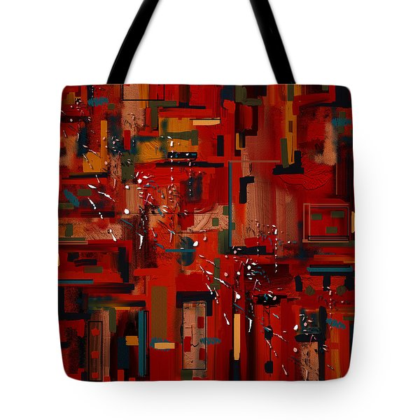 Tote Bag featuring the painting Penman Original-233 by Andrew Penman