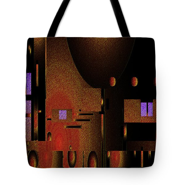 Tote Bag featuring the painting Penman Original-252 by Andrew Penman