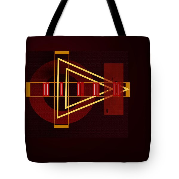 Tote Bag featuring the painting Penman Original-253 by Andrew Penman