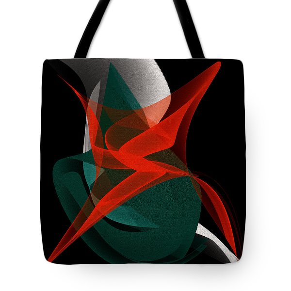 Tote Bag featuring the painting Penman Original-263-private Dancer by Andrew Penman