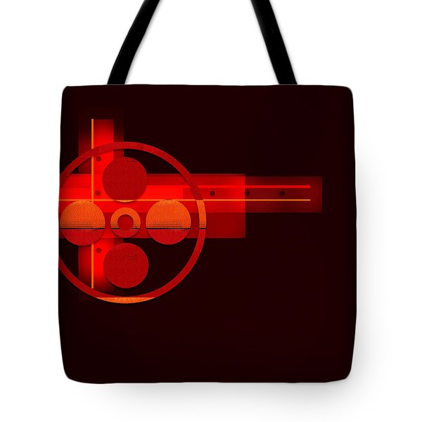 Tote Bag featuring the painting Penman Original- 270 by Andrew Penman
