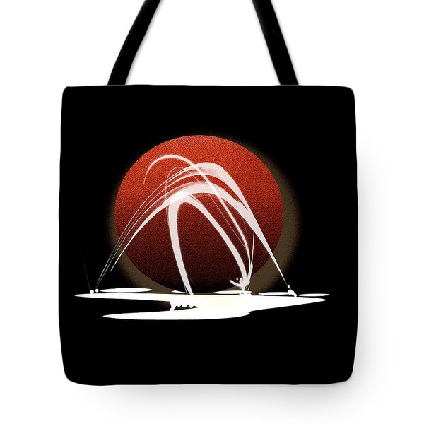 Tote Bag featuring the painting Penman Original-303 by Andrew Penman