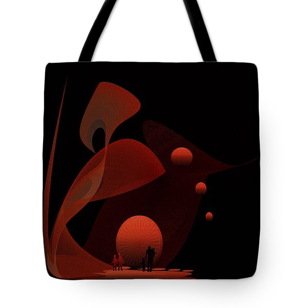 Penman Original-451 Out Of The Rat Race Into A Space Of Wellbeing Tote Bag by Andrew Penman