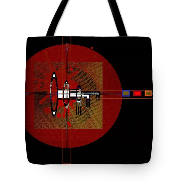 Tote Bag featuring the painting Penmanorigina-260 by Andrew Penman