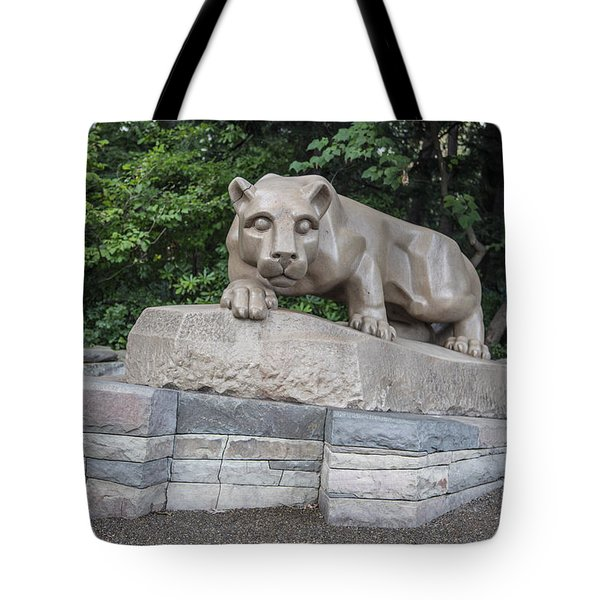 Penn Statue Statue  Tote Bag by John McGraw