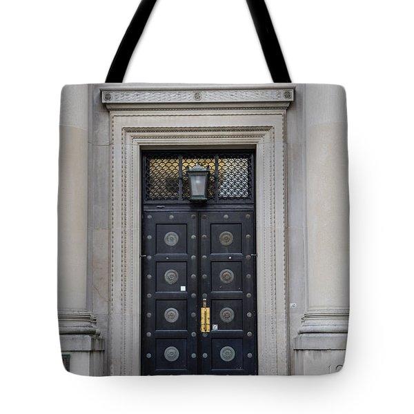 Penn State University Liberal Arts Door  Tote Bag by John McGraw