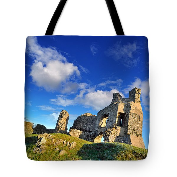 Pennard Castle Tote Bag