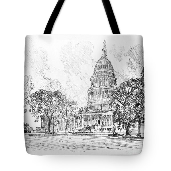 Pennell Capitol, 1912 Tote Bag by Granger