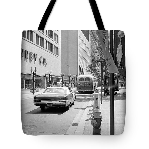 Penney's And Donaldsons 1971 Tote Bag
