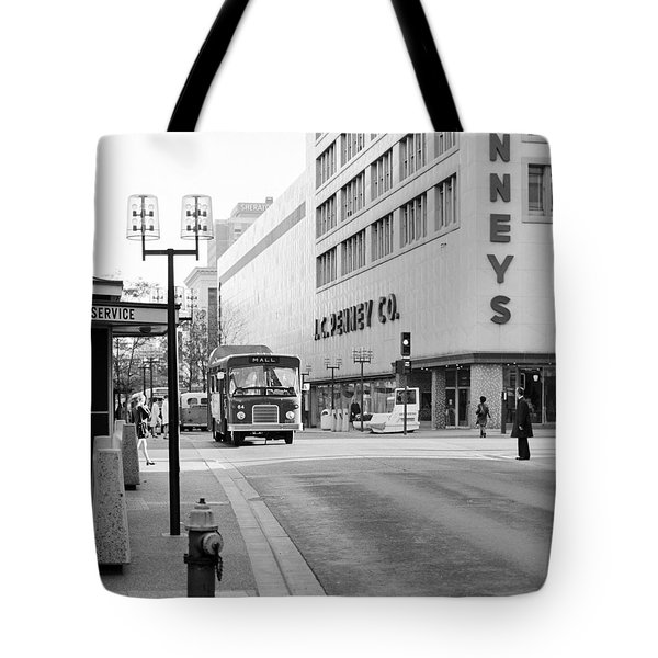 Penney's On The Mall Tote Bag