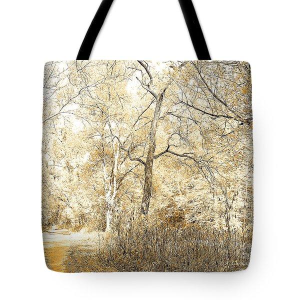 Pennsylvania Autumn Woods Tote Bag
