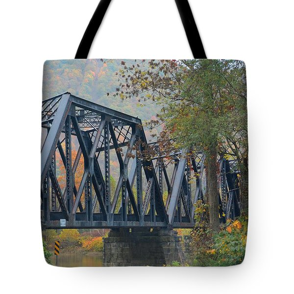 Pennsylvania Bridge Tote Bag by Cindy Manero
