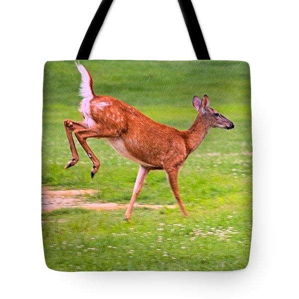 Pennsylvania White-tail Tote Bag
