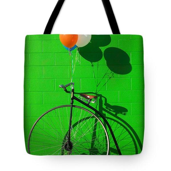 Penny Farthing Bike Tote Bag
