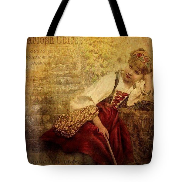Penny For Your Thoughts Tote Bag by Wallaroo Images