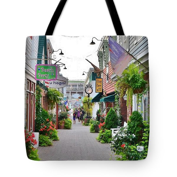 Penny Lane Greenery Tote Bag