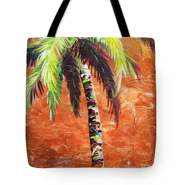 Penny Palm Tote Bag by Kristen Abrahamson