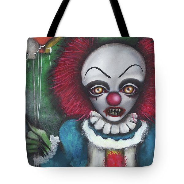 Pennywise Tote Bag by Abril Andrade Griffith