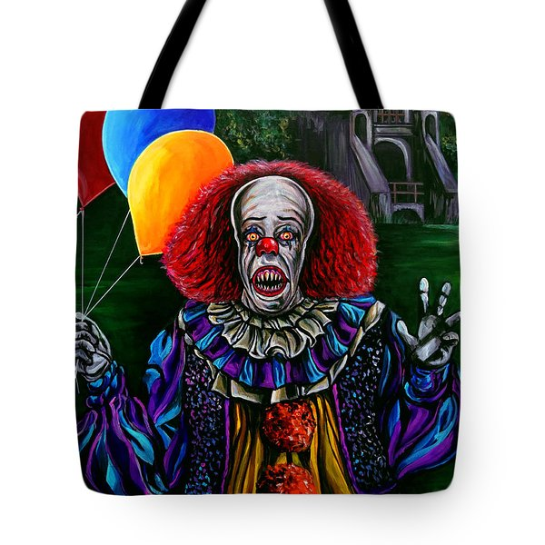 Pennywise It Tote Bag by Jose Mendez