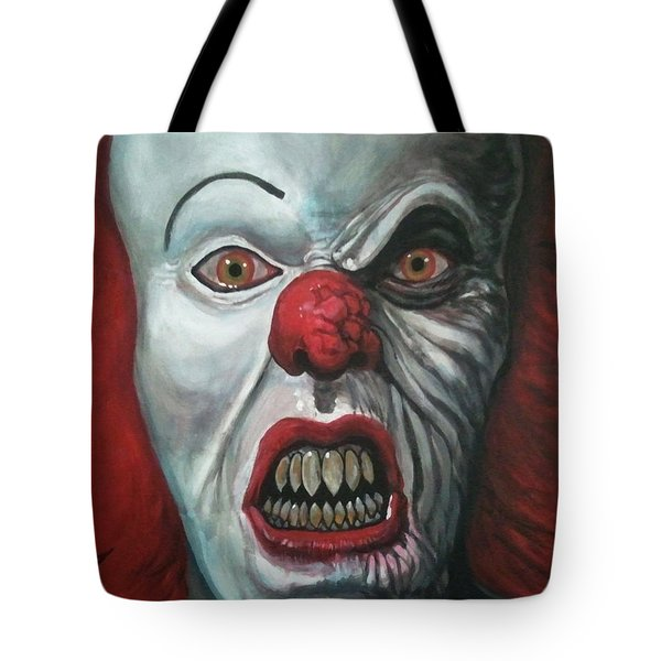 Pennywise Tote Bag by Tom Carlton