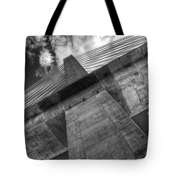 Penobscot Narrows Bridge Tote Bag