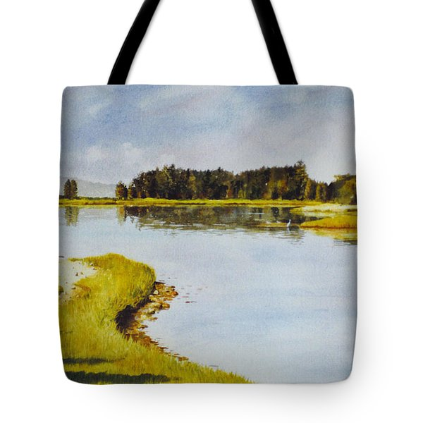 Petomska Inlet Tote Bag